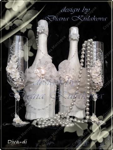 """Свадебные бокалы + набор """"Бал невест"""" фото 1"""