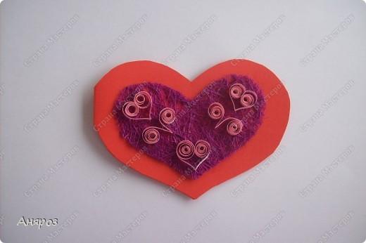 Вот такие валентинки сделала для дочки  Розовая фото 5