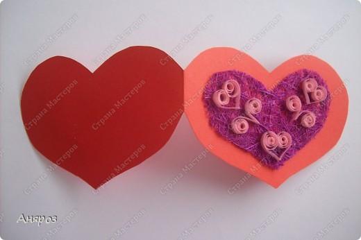 Вот такие валентинки сделала для дочки  Розовая фото 9