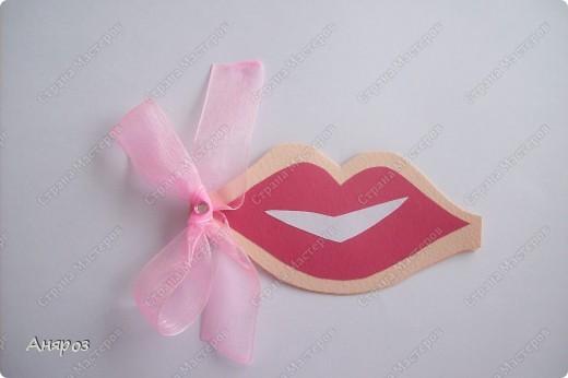 Вот такие валентинки сделала для дочки  Розовая фото 1