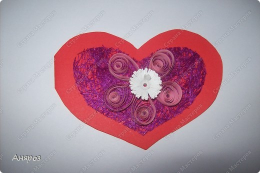 Вот такие валентинки сделала для дочки  Розовая фото 6