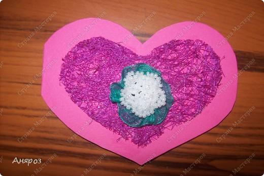 Вот такие валентинки сделала для дочки  Розовая фото 7