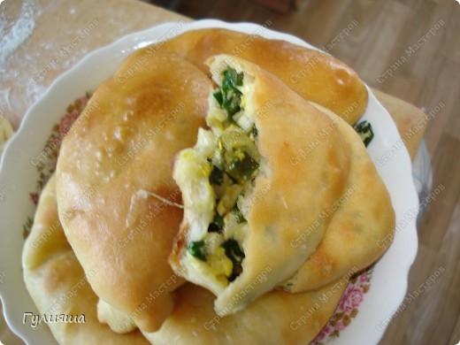 Пирожки с луком фото 1