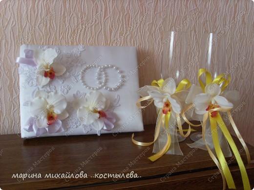 фантазия на свадебную тему.   сделала себе на свадьбу подарок. фото 1