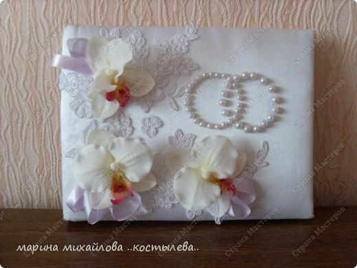 фантазия на свадебную тему.   сделала себе на свадьбу подарок. фото 2