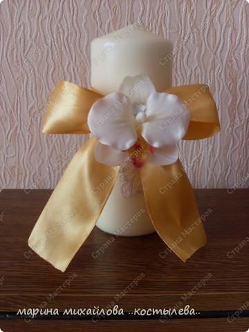 фантазия на свадебную тему.   сделала себе на свадьбу подарок. фото 4