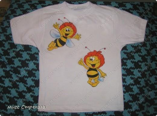 "Детская футболка ""Пчелки-шалуньи"""