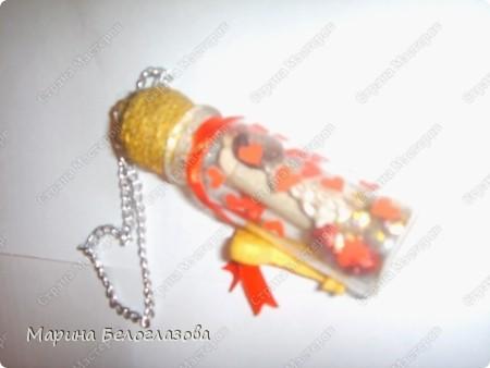"""Благодаря СМ и МК  ПОЭМА ОБ ОРИГАМИ """"послание в бутылке"""" я сделала оригинальный подарок Любимому!! фото 3"""