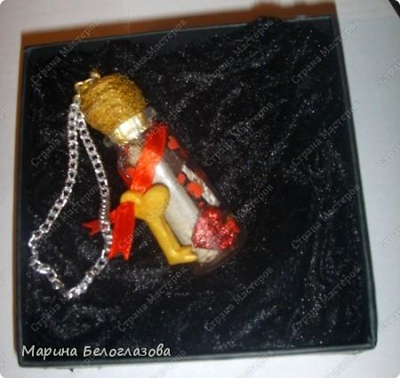 """Благодаря СМ и МК  ПОЭМА ОБ ОРИГАМИ """"послание в бутылке"""" я сделала оригинальный подарок Любимому!! фото 4"""