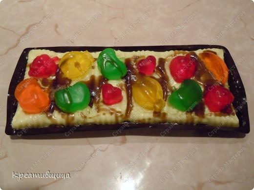 мыльный тортик в подарок девочке на день рождения ))) фото 2