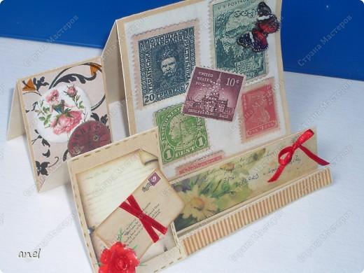 Мне так нравятся открытки необычной формы,вот и выискиваю и делаю. фото 7