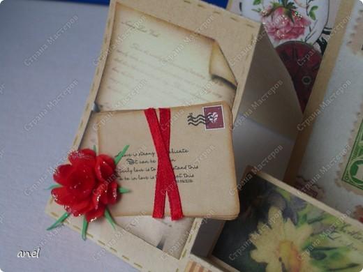Мне так нравятся открытки необычной формы,вот и выискиваю и делаю. фото 6