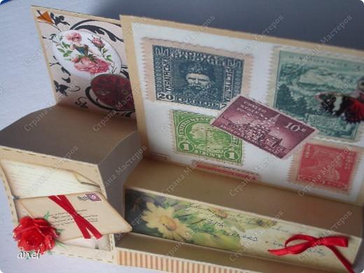 Мне так нравятся открытки необычной формы,вот и выискиваю и делаю. фото 5