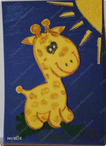 Принимайте к себе моих жирафиков. Зверьки из бархатной бумаги. Кредиторы (Шмыга, Аня и Настя, maniya, Ольга Иванова, Kapusta), если нравится, выбирайте фото 4