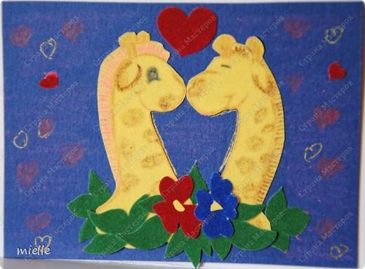 Принимайте к себе моих жирафиков. Зверьки из бархатной бумаги. Кредиторы (Шмыга, Аня и Настя, maniya, Ольга Иванова, Kapusta), если нравится, выбирайте фото 6