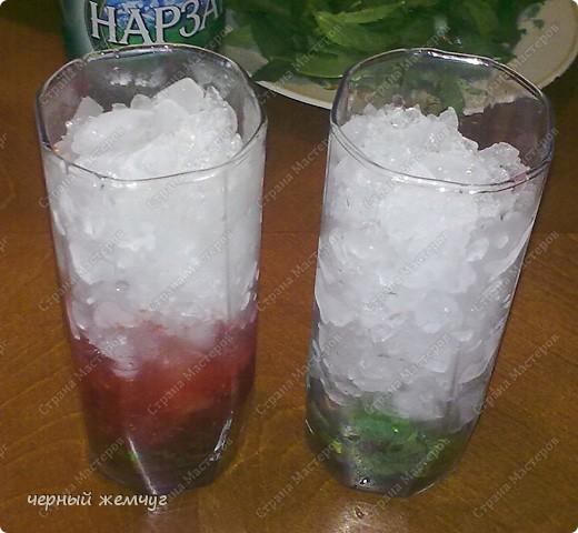 "коктейль "" Мохито"" и коктейль ""Мохито клубничный"" фото 5"