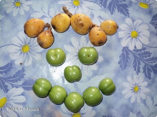 Купили вчера немного бушмалы и алычи. Бушмала - желтенькая, алыча - зеленая.  фото 7
