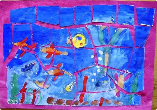 """Мозаика """"Подводный мир"""" фото 2"""