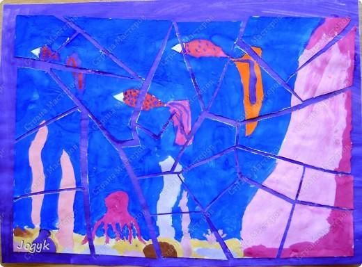 """Мозаика """"Подводный мир"""" фото 4"""