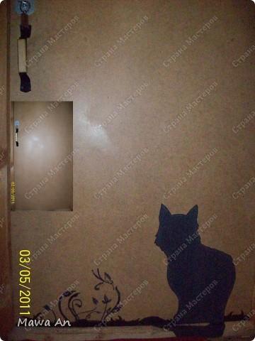 Здравствуйте Всем заглянувшим, вот поселила кошку на дверь. Вот Мк http://stranamasterov.ru/node/206819
