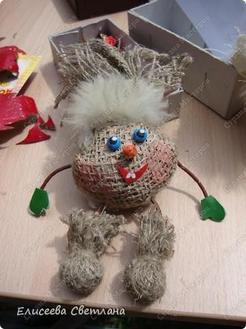 Делаем тряпочных куколок фото 12
