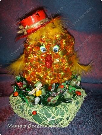 Вот такой цыпленок получился у меня к празднику Пасхи! фото 2
