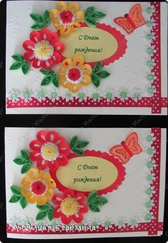 И снова повод для открыток. Поскольку на улице жара, то открытки получились очень даже летние. фото 4