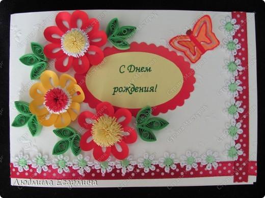 И снова повод для открыток. Поскольку на улице жара, то открытки получились очень даже летние. фото 2