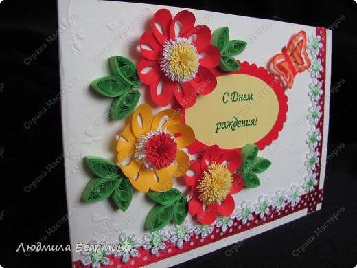 И снова повод для открыток. Поскольку на улице жара, то открытки получились очень даже летние. фото 3