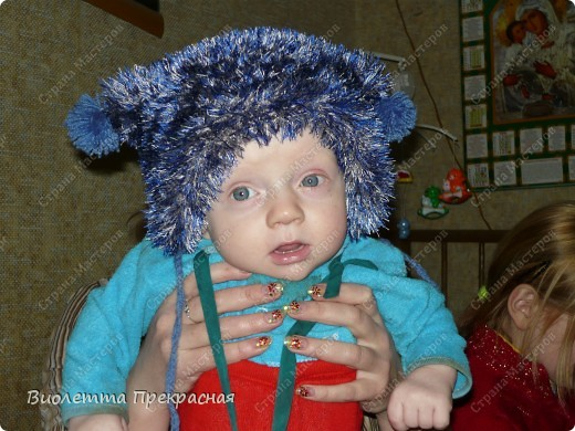 Вот какая у нас шапочка! фото 1