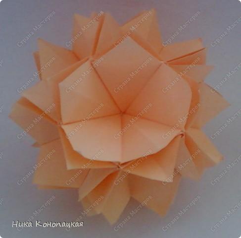 Name: Arabica Designer: Mariya Vahrusheva Parts: 30 Paper: 8*8 cm Joint: glue