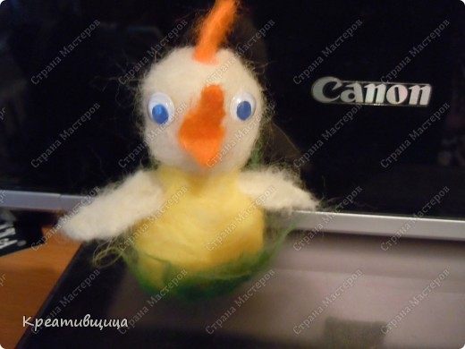 Моя  валяшка заяц Степашка)) фото 3