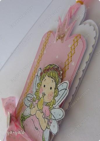 """Сегодня утром слифтила вот эту открыточку http://scrapalbum.blogspot.com/2011/03/its-your-birthday.html Оказывается наше милое слово """"повторюшка"""" можно заменить книжным """"лифтинг"""")))) фото 5"""