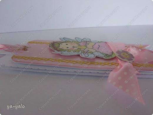 """Сегодня утром слифтила вот эту открыточку http://scrapalbum.blogspot.com/2011/03/its-your-birthday.html Оказывается наше милое слово """"повторюшка"""" можно заменить книжным """"лифтинг"""")))) фото 6"""