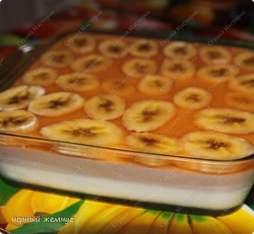 Сметанник с бананом фото 1