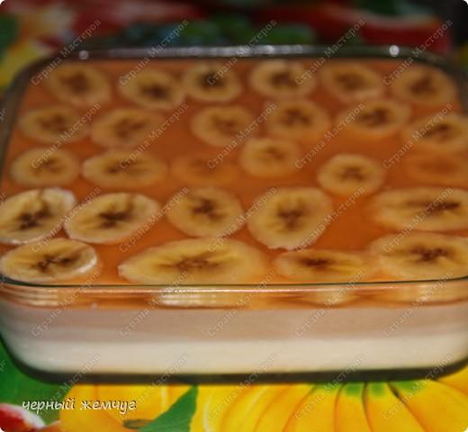 Сметанник с бананом фото 2