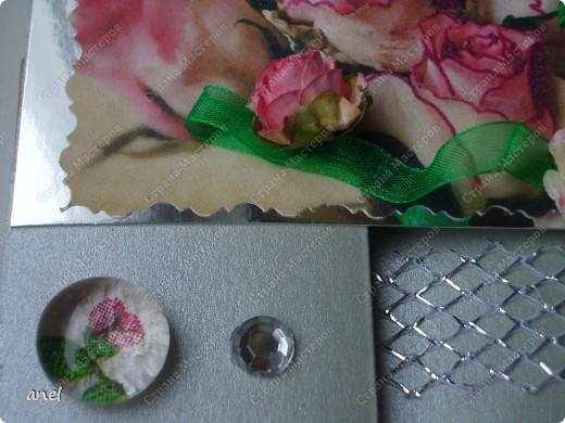 По этому М.К. сделала вот такую открыточку  http://stranamasterov.ru/node/57010  Обычный стеклянный камушек я обклеила с обратной стороны маленьким кусочком салфетки с рисунком,смотрится очень интересно! фото 1