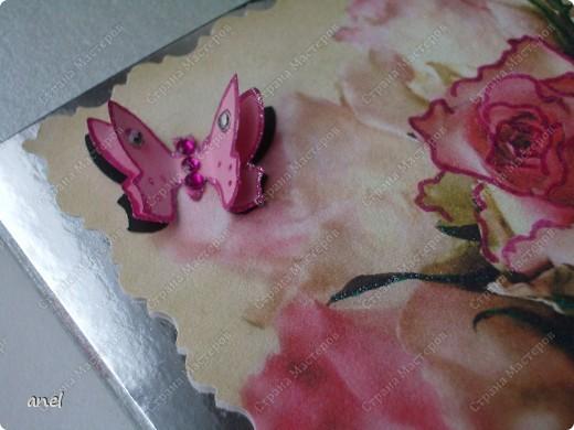 По этому М.К. сделала вот такую открыточку  http://stranamasterov.ru/node/57010  Обычный стеклянный камушек я обклеила с обратной стороны маленьким кусочком салфетки с рисунком,смотрится очень интересно! фото 4