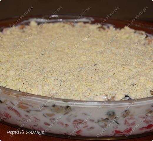 Салат из морепродуктов фото 6