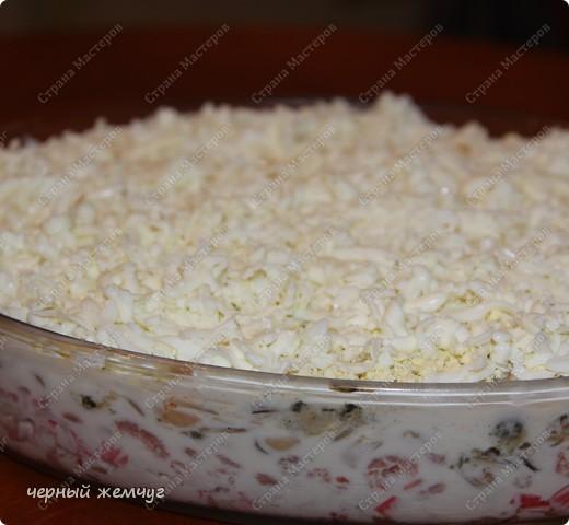 Салат из морепродуктов фото 7