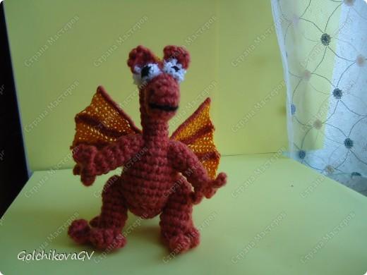 Влюбилась в дракончика Пенелопу http://stranamasterov.ru/node/74797?c=favorite, и за ночь создала своего, лишь кое-что добавила и изменила крылья. фото 1