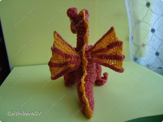Влюбилась в дракончика Пенелопу http://stranamasterov.ru/node/74797?c=favorite, и за ночь создала своего, лишь кое-что добавила и изменила крылья. фото 2