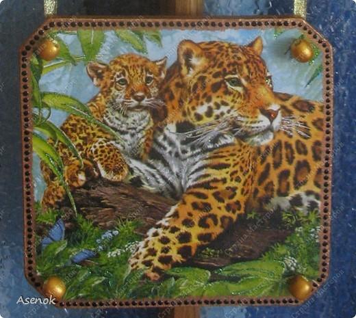 """Панно назвала """"Семья"""" потому что на всех трех частях изображены семьи животных. фото 4"""