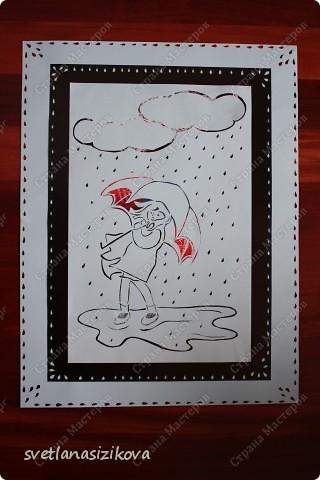 Знаю, что сейчас в России лето, но у нас настоящая чилийская зима и  уже третий день идёт дождь... Вот в такую погоду и навырезалось... фото 2
