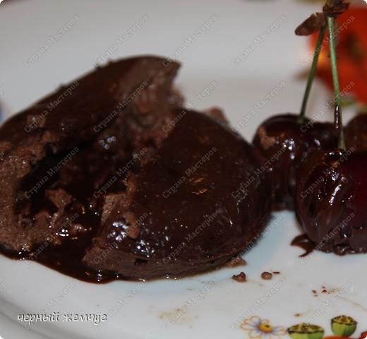 Шоколадный десерт фото 6