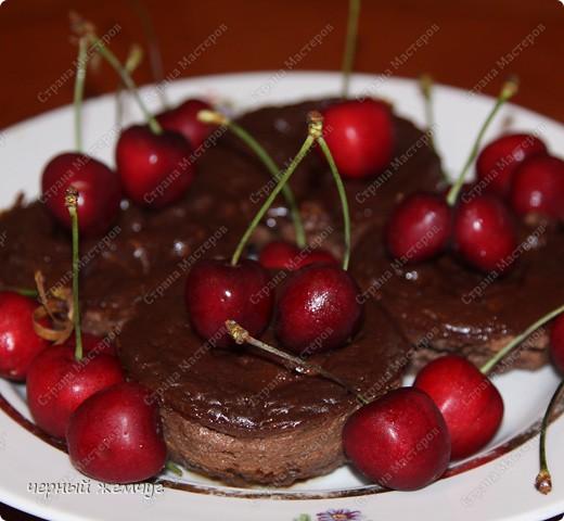 Шоколадный десерт фото 1