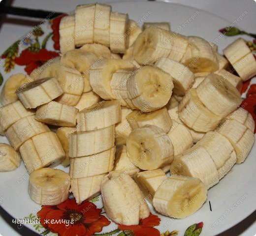 Курица фаршированная ананасом с гарниром из бананов в кляре фото 16