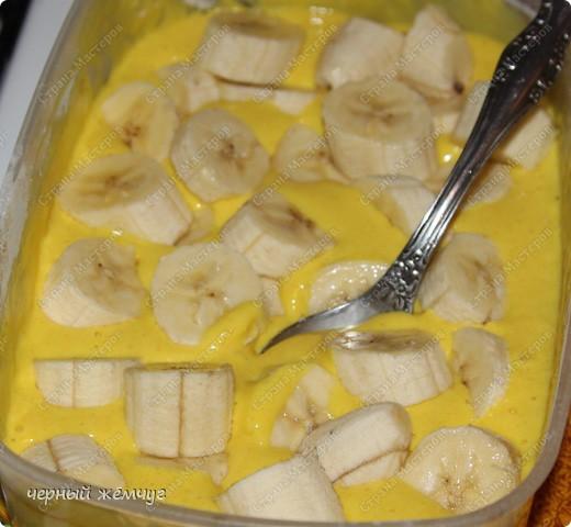 Курица фаршированная ананасом с гарниром из бананов в кляре фото 17