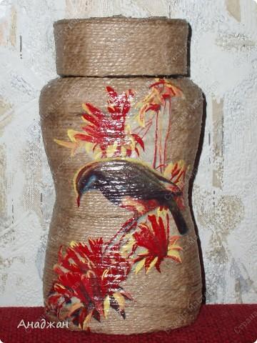 """Набор """"Букет"""" Дерево, стекло, рисовая карта, акриловая краска фото 15"""