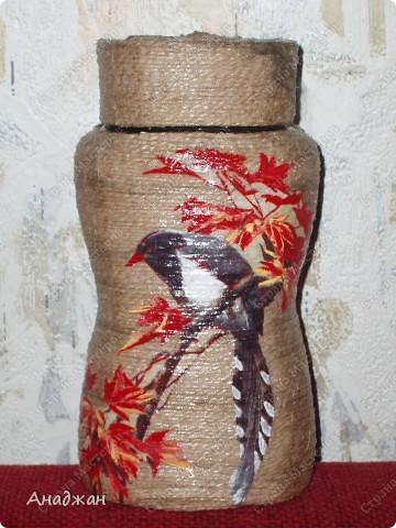 """Набор """"Букет"""" Дерево, стекло, рисовая карта, акриловая краска фото 16"""